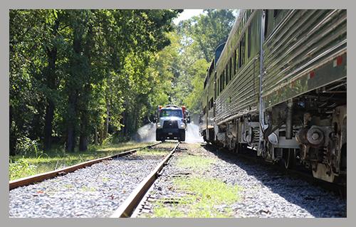southeast-vegetation-management-applications-truck-on-track